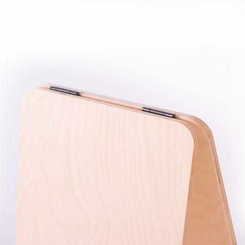 A-frame black hinges