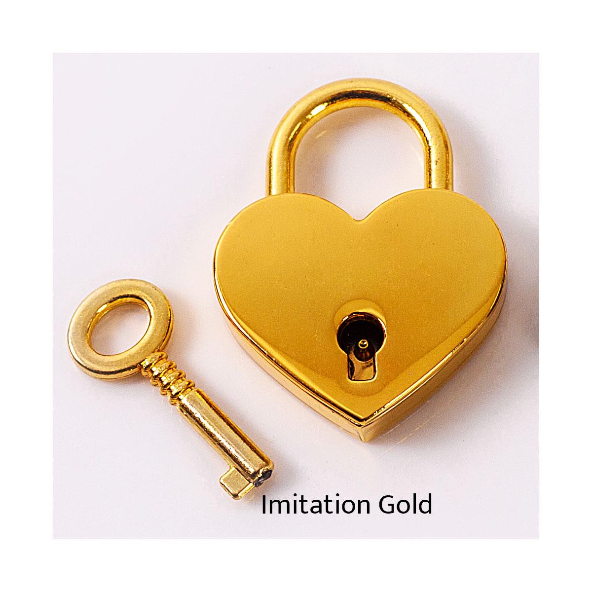 Imitation Gold Lock