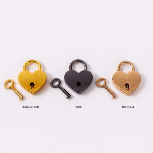 Heart shaped padlocks for wishing wells