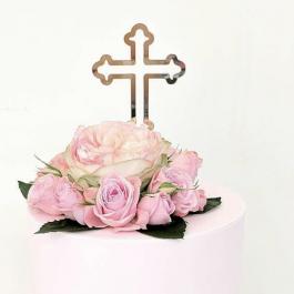 Cross Cake Topper