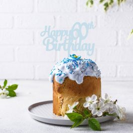 Happy Birthday Cake Topper- add custom number