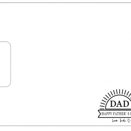 Wooden Board Father's Day -Personalised