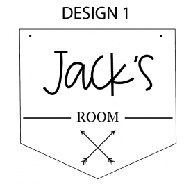 Child's Room Sign- Personalised