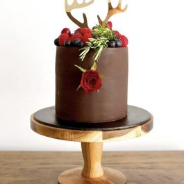 Reindeer Antler Cake Topper