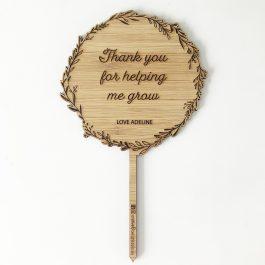 Teacher Planter Stick