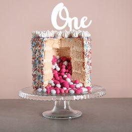 One Standard Font Cake