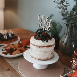 Wild One Cake Topper Cake