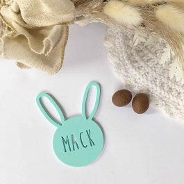 Easter Bunny Tag- Personalised