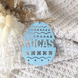 Personalised Easter Egg Decoration