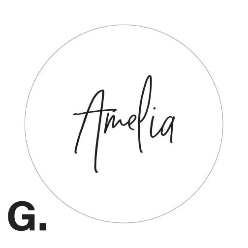 wedding guest gift coaster frosted acrylic personalised
