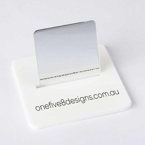 Silver mirror laser cut