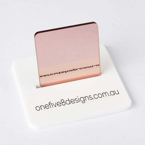 Rose Gold Acrylic Laser Cut