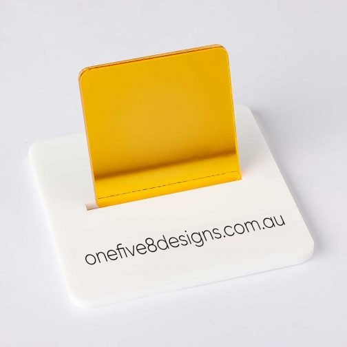 gold mirror acrylic laser cut