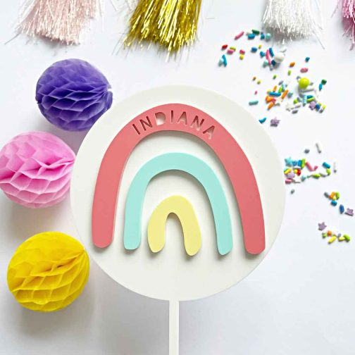 rainbow-name-cake-topper