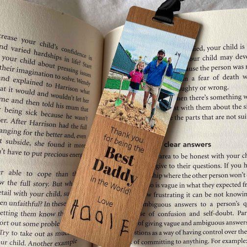 personalised-bookmark-wooden